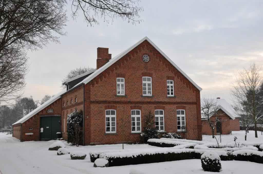 Heimathaus winterlich